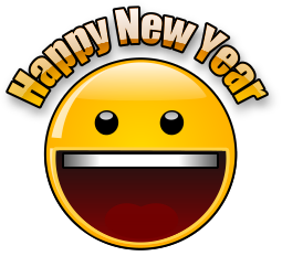 Happy New Year Smileys for WhatsApp 2017