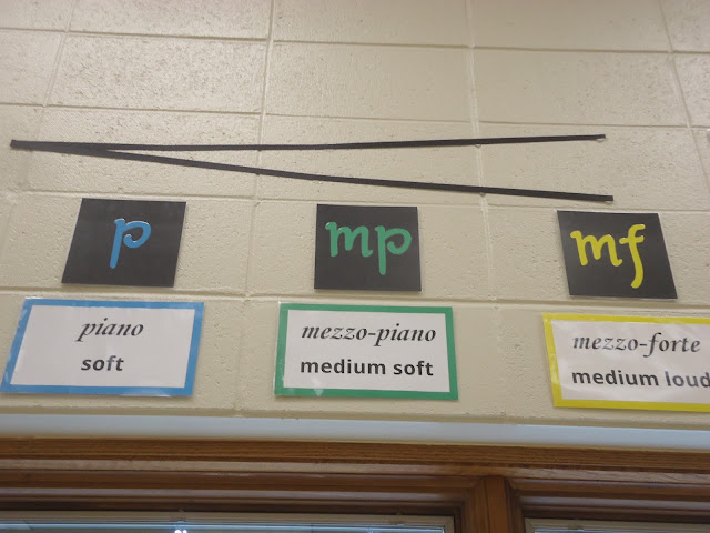 Dynamic posters for music bulletin board