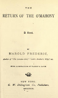 The-Return-of-The-OMahony-Ebook-Harold-Frederic