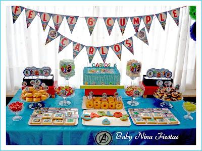 Mesa dulce Avengers