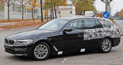2018 BMW 5 Series G31 Tourer Spy Shots