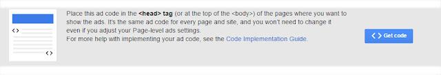 copy you mosile ads adsense code