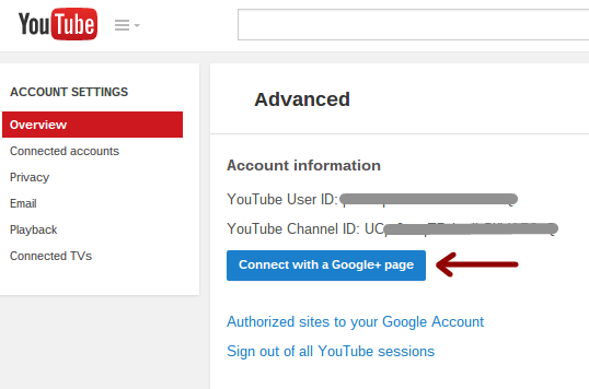 Use Google+ without a Profile: manage Google+ Pages, YouTube