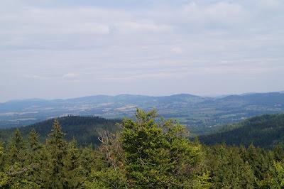 Starościńskie skały panorama