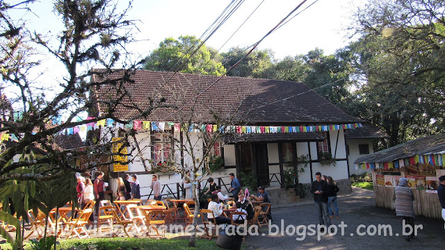 Restaurante no Parque Aldeia do Imigrante