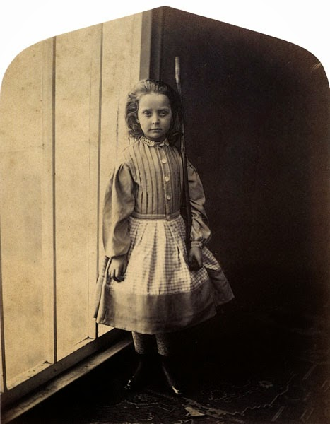 Lewis Carroll. Fine Art Photography. Ella Chlora Faithful Monier-Williams. 1866