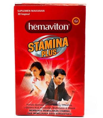 Harga Hemaviton Stamina Plus Terbaru 2017