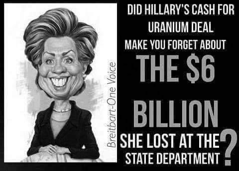 90 Miles From Tyranny : Hillary Lost Six Billion Dollars ...