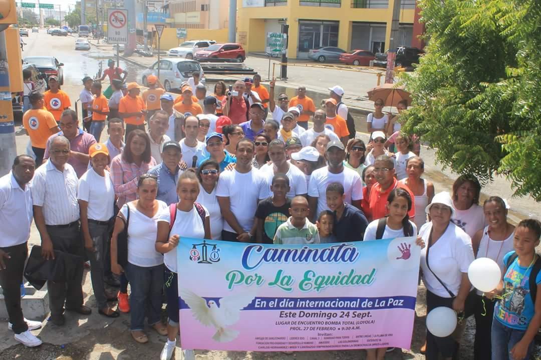 Realizan en SDO Caminata por la Equidad en el marco de celebración ...