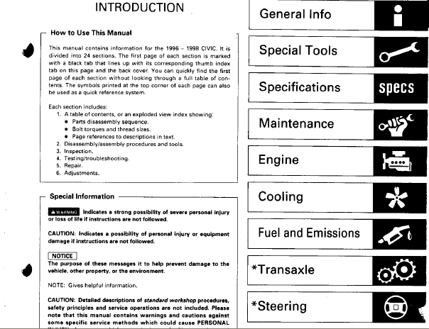 civic service manual product user guide instruction u2022 rh testdpc co honda civic factory service manual (96-00) 96-00 honda civic service manual pdf