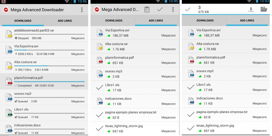 advance downloader for mega pause and resume your mega download