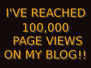 100,000 page views!!
