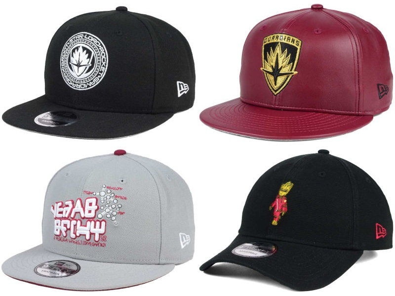 aecb0c21485 Guardians of the Galaxy Vol.2 Hat Collection by New Era Cap x Marvel Comics