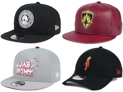 Guardians of the Galaxy Vol.2 Hat Collection by New Era Cap x Marvel Comics