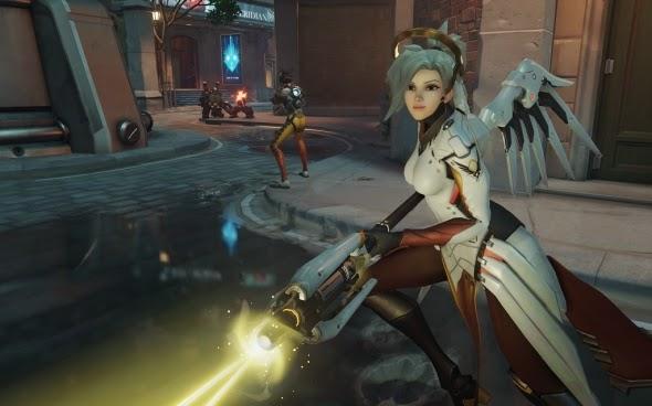 Overwatch é um jogo de tiro com a pitadinha mágica da Blizzard