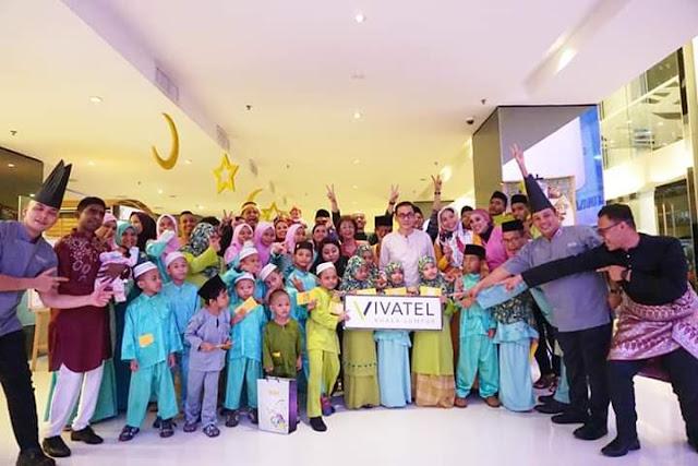 Majlis Berbuka Puasa Bersama Anak-Anak Yatim di Retro Cafe - Vivatel Kuala Lumpur