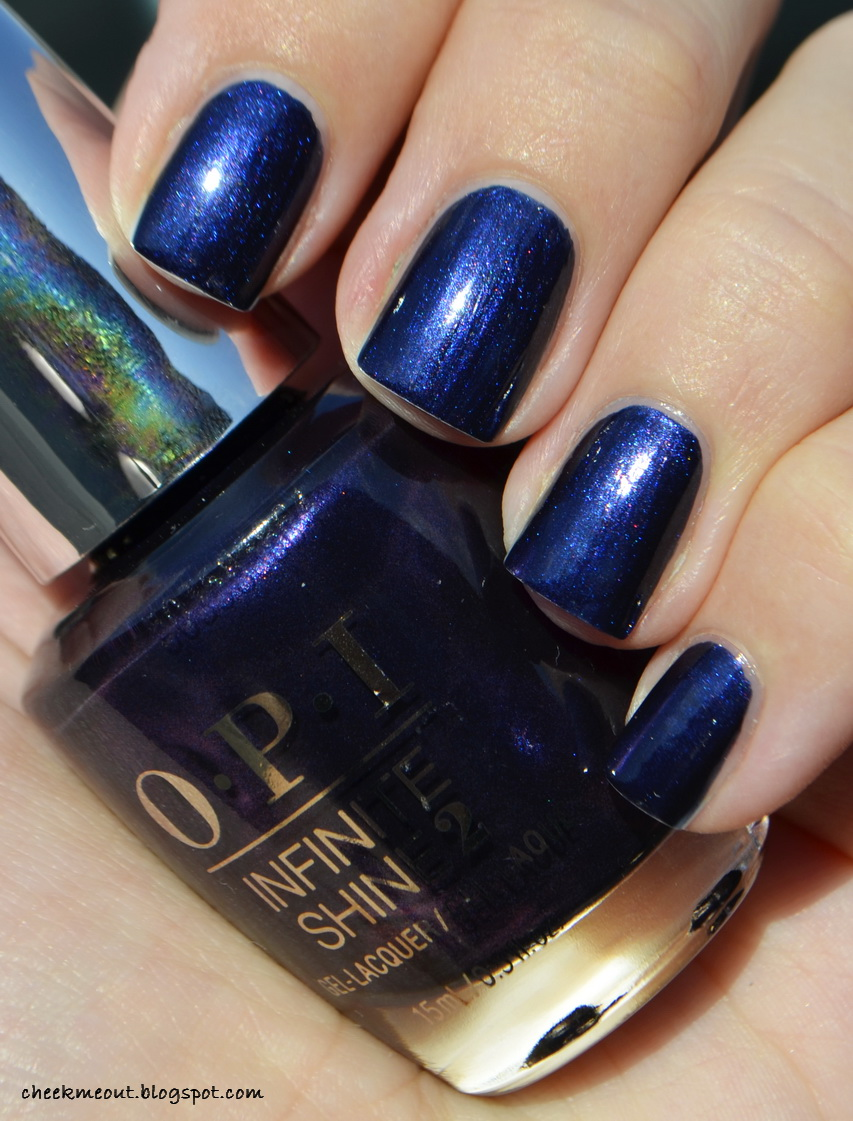 OPI Infinite shine iconic shades - CIA, Russian navy, Lincoln park ...