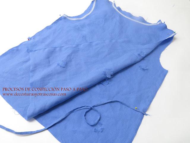 como coser en el costado una cinta