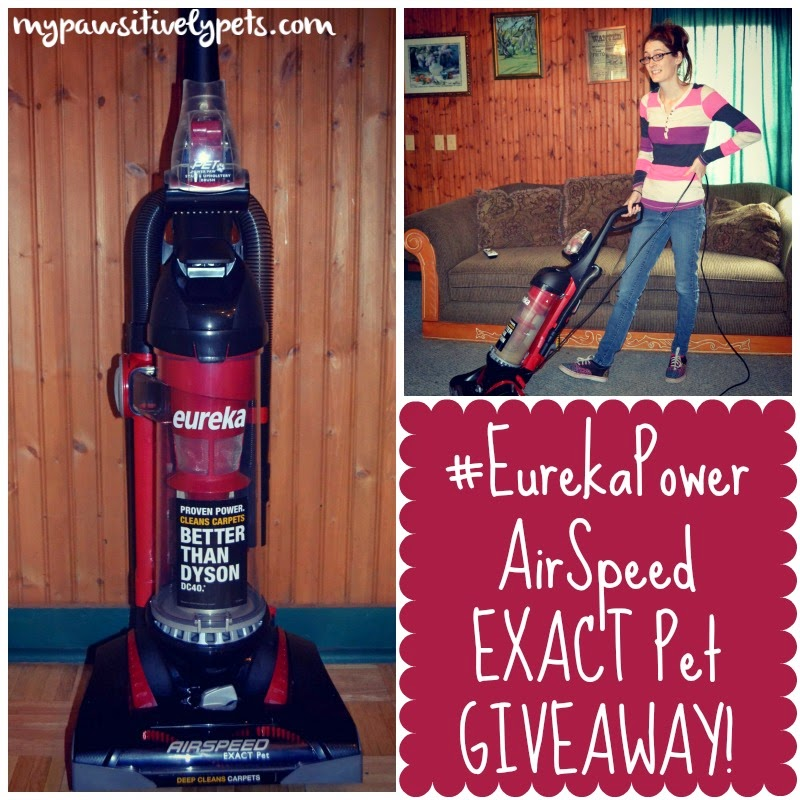 #EurekaPower AirSpeed EXACT Pet Giveaway