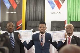 Diamond Platnumz Gets License For His TV And Radio Station
