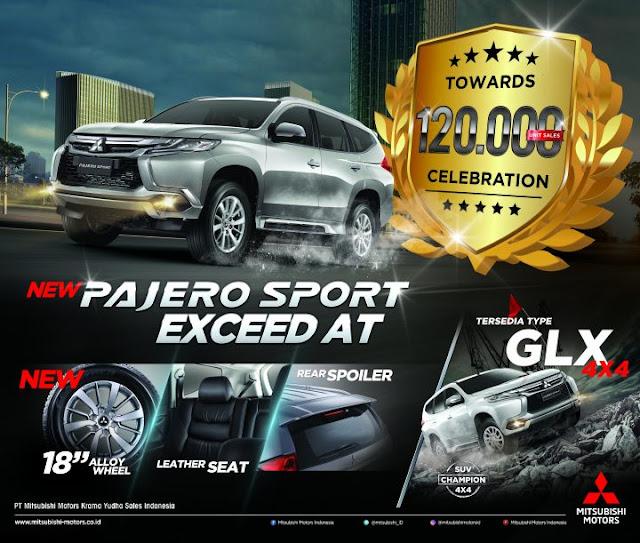 diskon terbesar new pajero sport - dakar - ultimate - exceed - glx - 2019