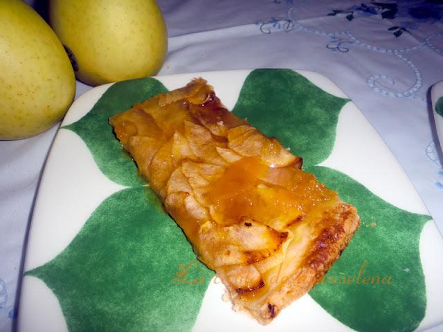 Tarta de manzana súper fina, súper fácil, súper buena