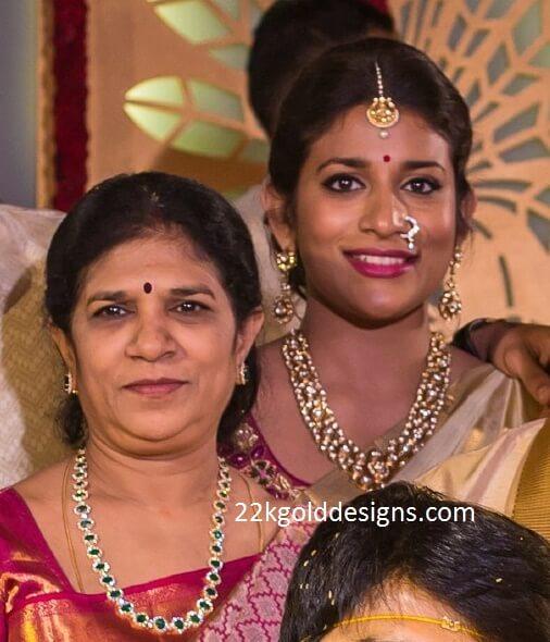 Surekha and Sushmita Jewellery at Sreeja's Wedding