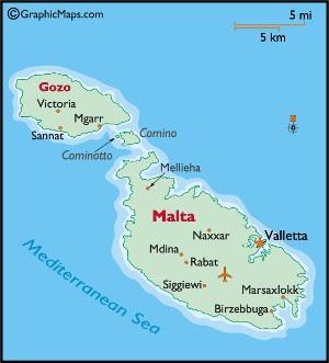 ilha malta mapa Transitando pelo mundo: Assim é a Ilha de Malta ilha malta mapa