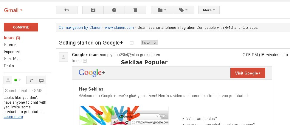 Cara Membuat Email Di Gmail Sekilas Populer