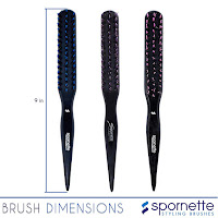 Brush dimensions