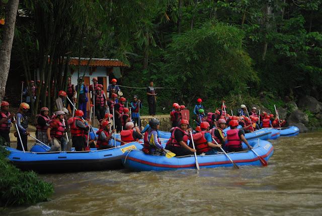Jadwal Trip Rafting