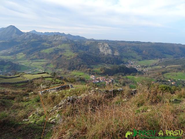 Ruta al Cerro Llabres: Bajando a Rioseco
