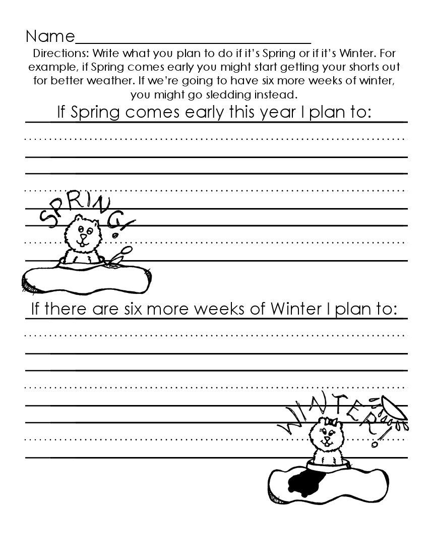 The Art of Teaching: A Kindergarten Blog: Groundhog Day