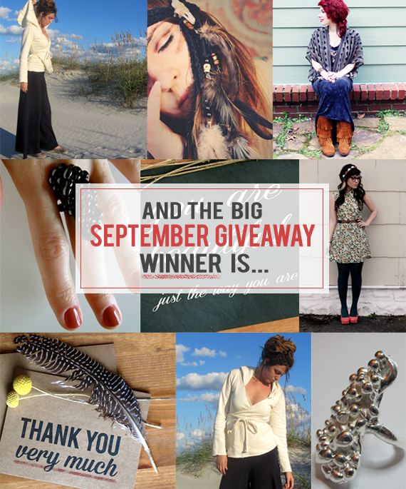 The Bubby and Bean Big September Giveaway Winner