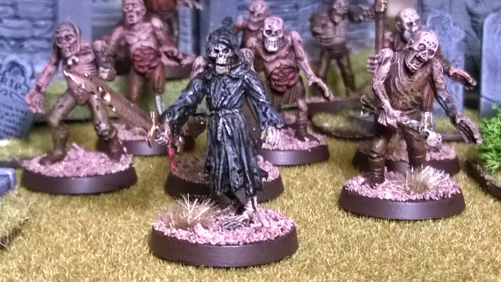 otherworld miniatures skeleton leader 28mm undead