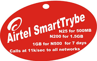 Airtel 2GB for ₦1000 Subscription Code and Trick on SmartTrybe