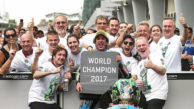 Morbidelli Kenang Momen Pertemuan Pertama dengan Rossi