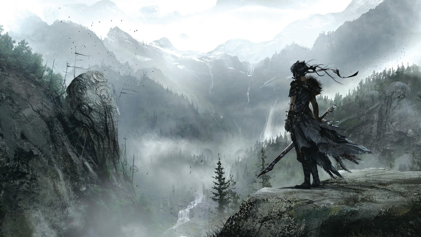 Stunning Hd Fantasy Gaming Desktop Wallpapers: Ultra HD Games Wallpapers For Desktop