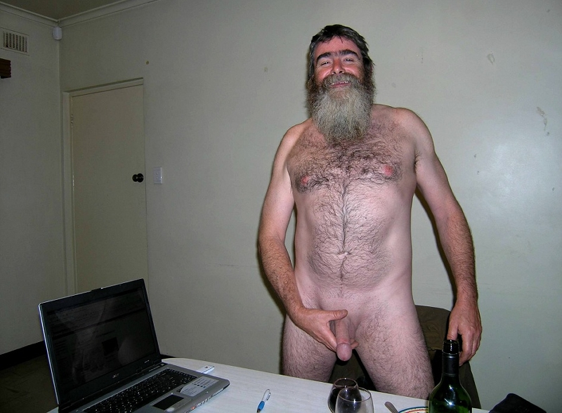 Hairy granny loses panties