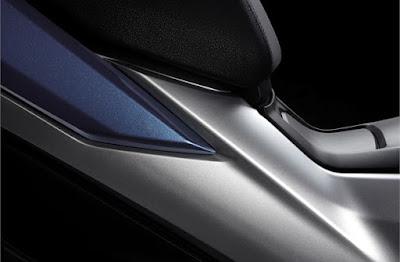 Honda Forza 300 2018 atau Forza 250 tutup tangki bensin di depan pastinya