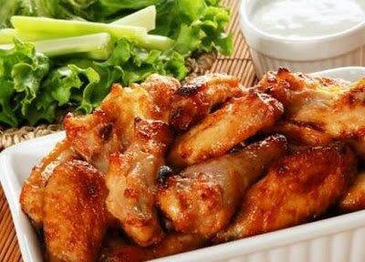أجنحة دجاج بالسويت تشيلي