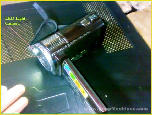 """DVC HD SONY 16.0MPx """"GEN X"""" G800 - Flash Light"""