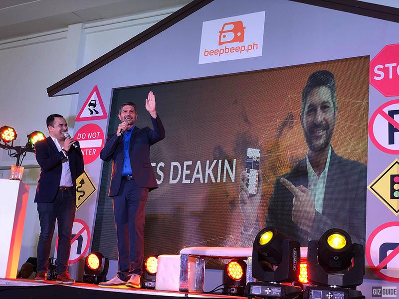 James Deakin, beepbeep.ph's brand ambassador