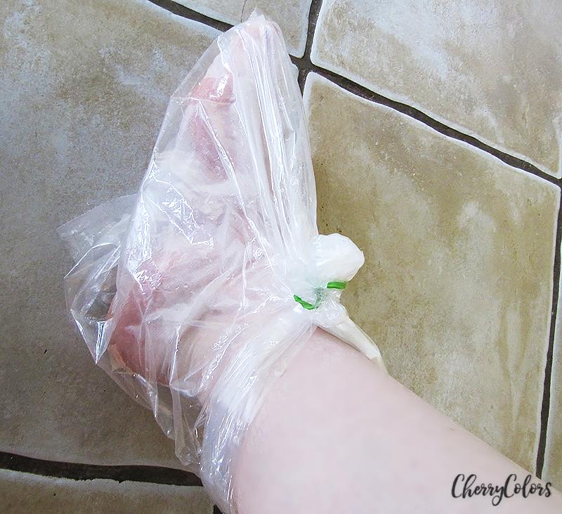 homemade plastic socks