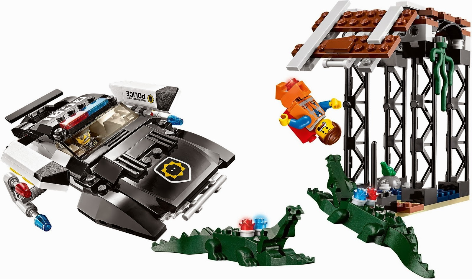 Buried in Bricks: The LEGO Movie sets now available!