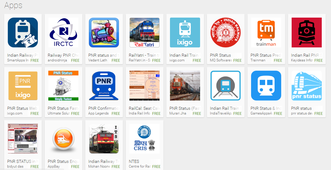 Free Irctc Pnr Rail Train Enquiry Amp Live Indian Rail Apps