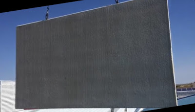 foto panel macizo paredes nave