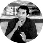Habib Asyrafy blogger Medan penulis novel Cerita Caca