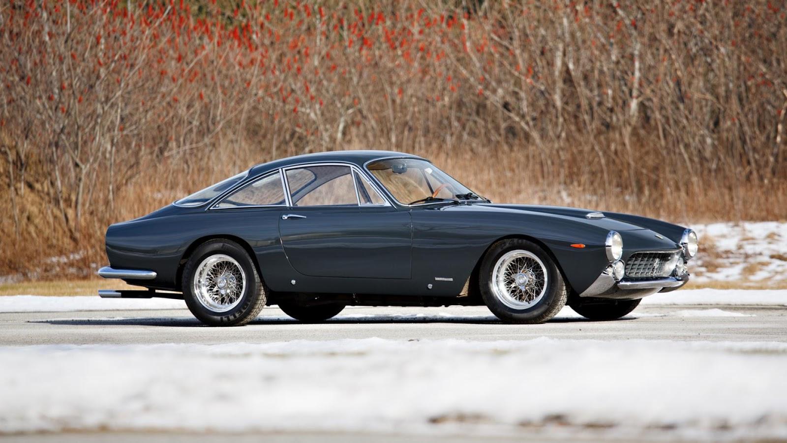 1963 Ferrari 250 GT Lusso Coupe: $1,875,000