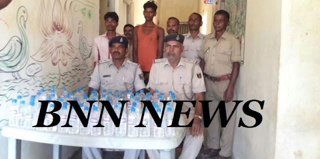 रैमा से 90 बोतल नेपाली शराब के साथ दो कारोबारी गिरफ्तार